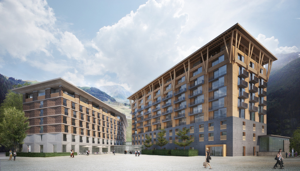 Gotthard Residences, Andermatt - Switzerland