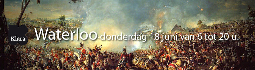 Klara reconstrueert Slag bij Waterloo in real-time