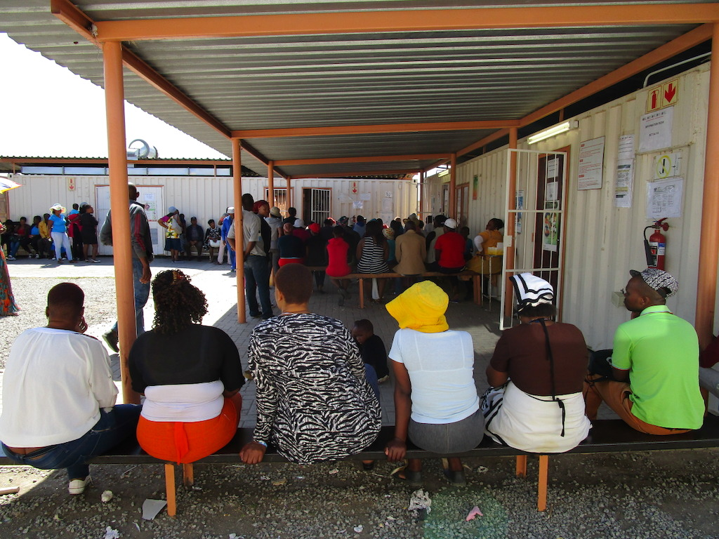 Overcrowded health facilities may deter people from seeking care after being victims of sexual violence. Photographer: Tshiamo Matlhabe