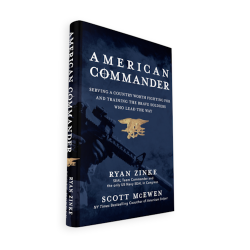 Preview: Congressman Ryan Zinke's AMERICAN COMMANDER to be Released November 29