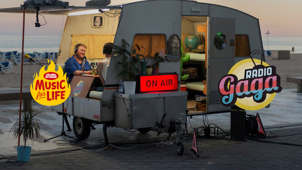 Canvas en Radio Gaga steunden De Warmste Week