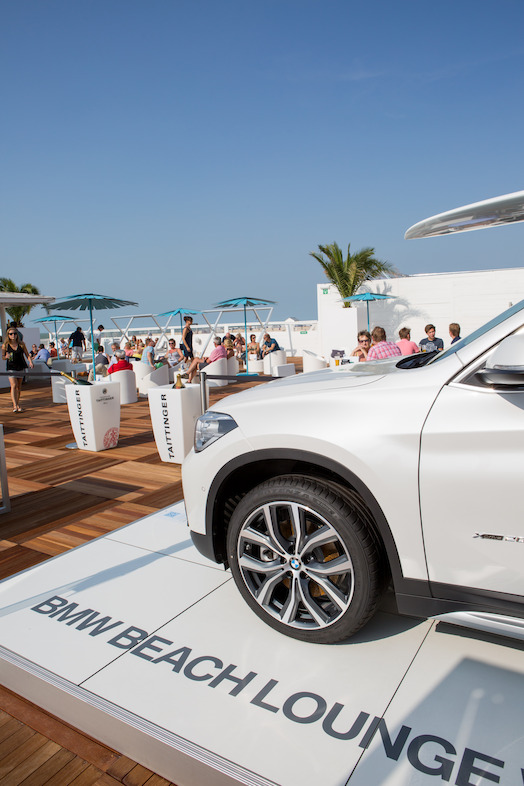 BMW Beach Lounge