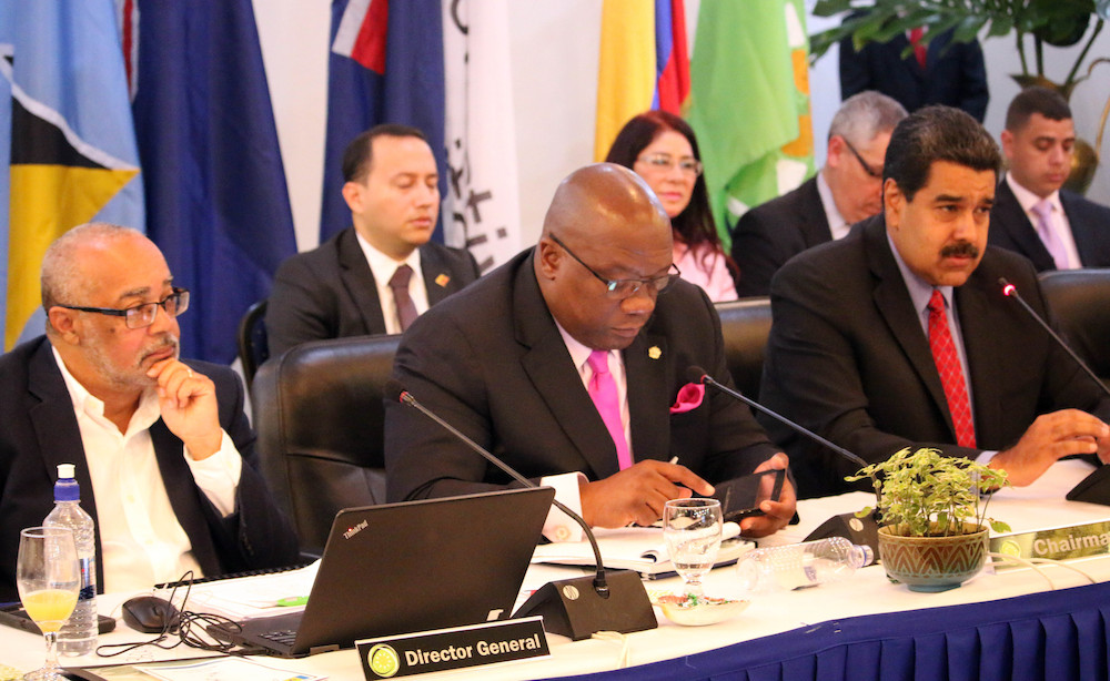 OECS/Venezuela discuss matters of mutual interest
