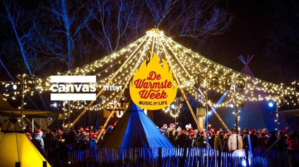 Canvast steunt De warmste Week