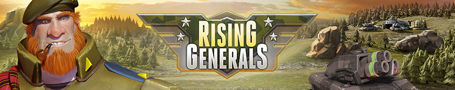 Cross-Platform Battlefields of the Future: InnoGames Announces Rising Generals