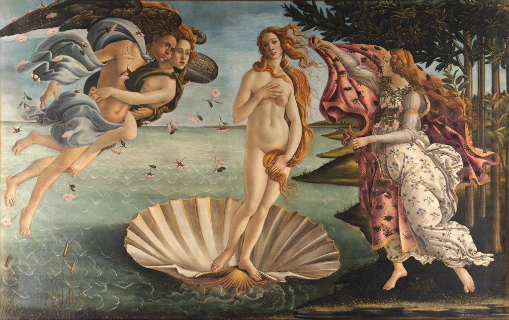 Birth of Venus by Botticelli