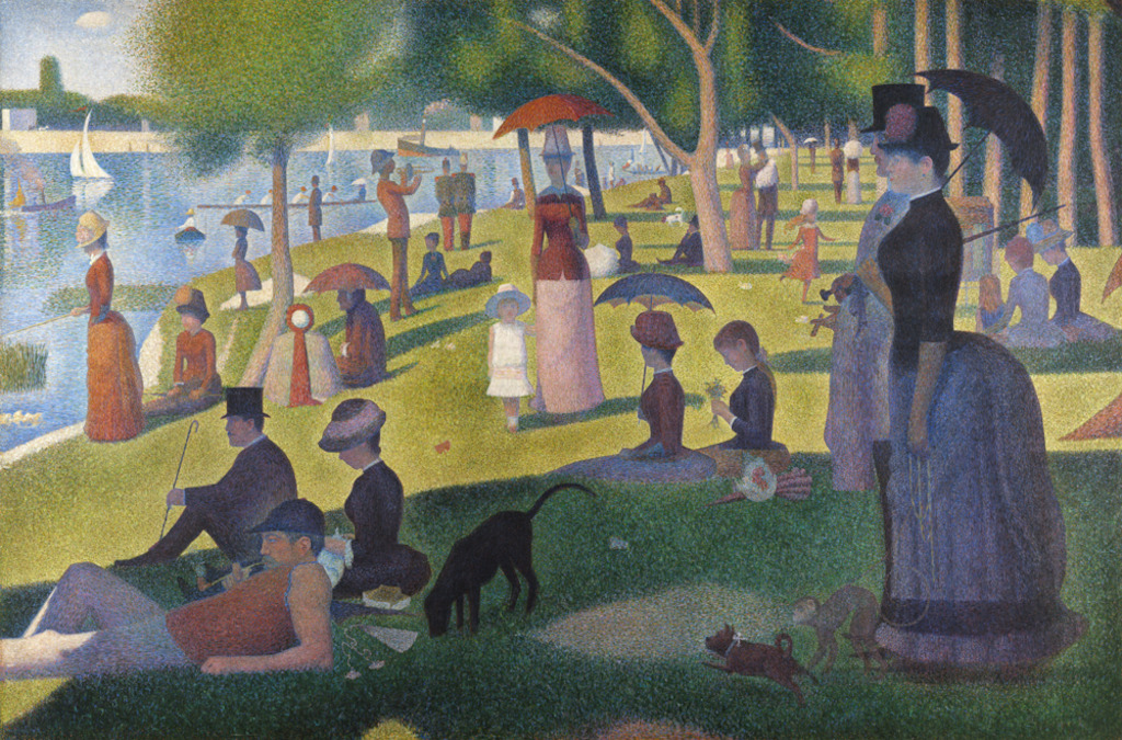 Sunday on le Grande Jatte by Seurat