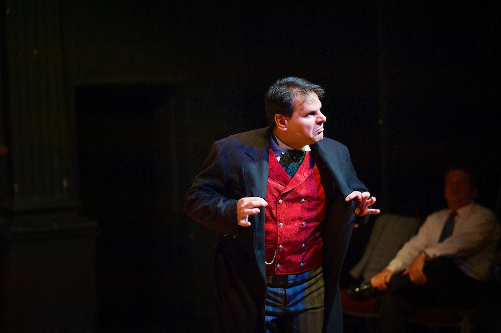 Anthony Rodriguez as Ebenezer Scrooge