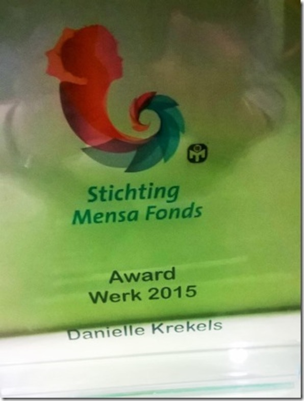 Mensa Award 2015