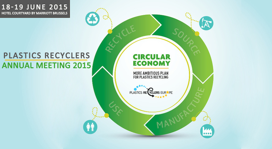 New speaker confirmed - Plastics Recyclers Europe Annual Meeting 18 & 19 June 2015