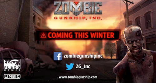 flaregames confirms winter release for mobile shooter Zombie Gunship, Inc.