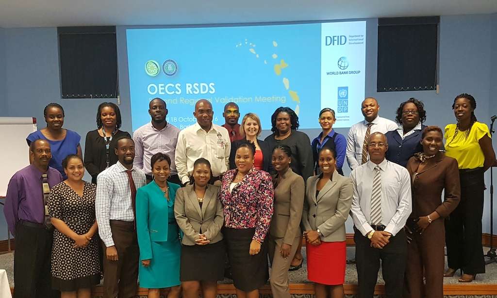 Key OECS RSDS Stakeholders convene in Barbados from the 17th and 18th of October 2016 .