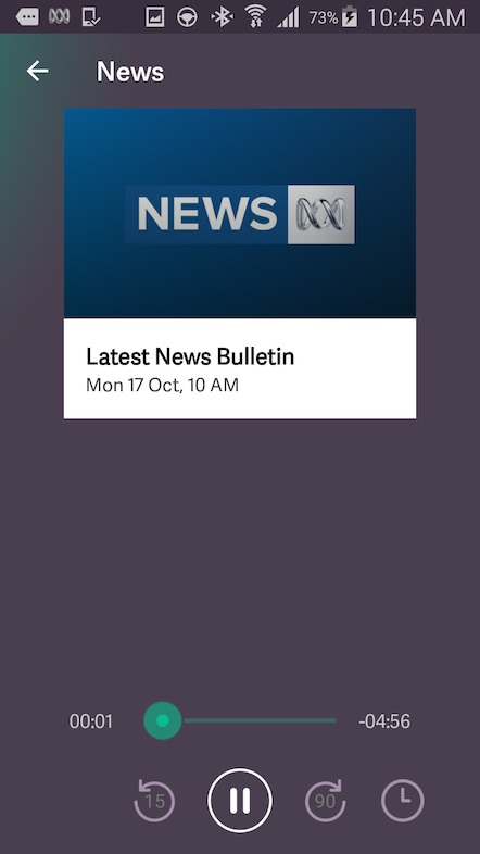 ABC Radio app now connected car ready and features hourly news bulletins available on demand