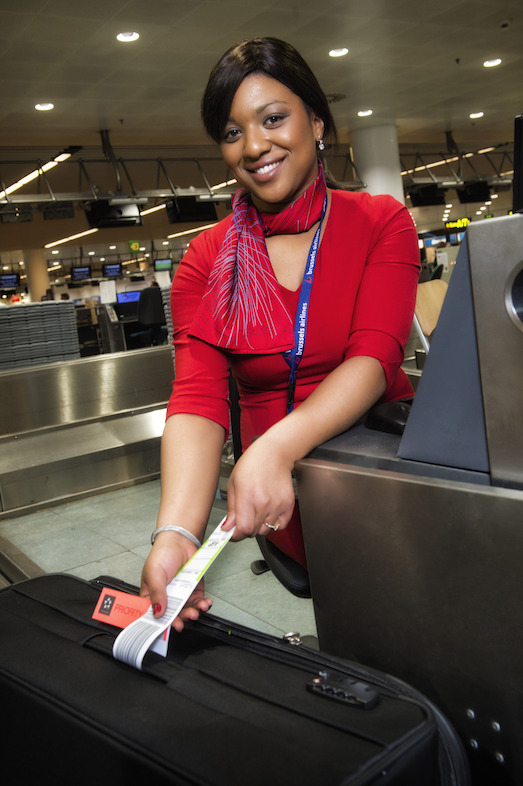 Brussels Airlines check-in