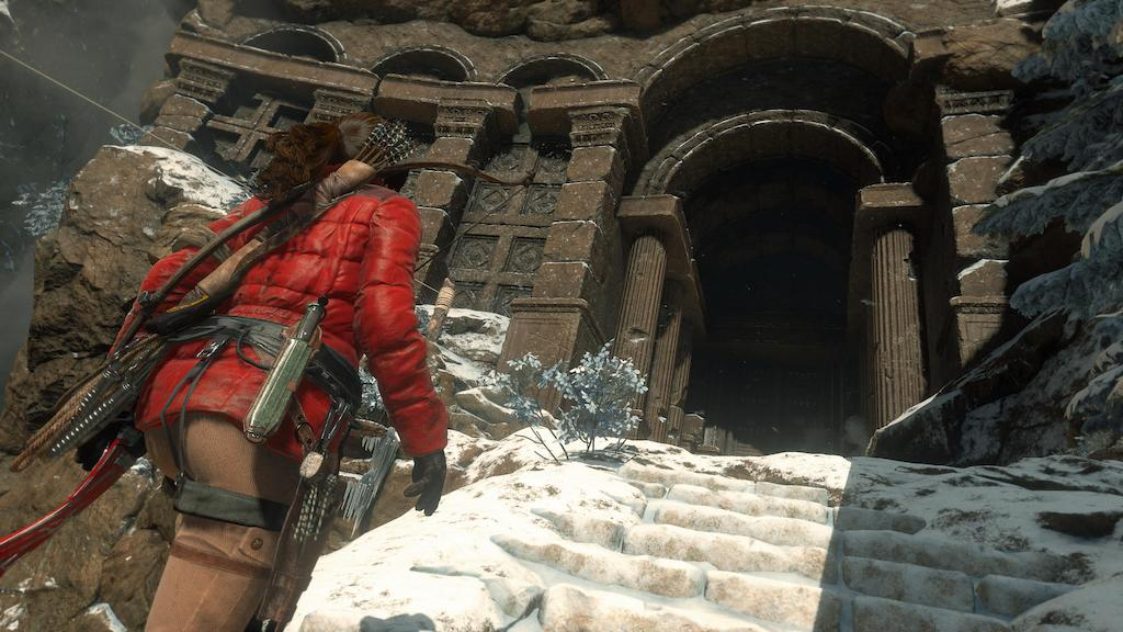 Rise of the Tomb Raider Tombentrance