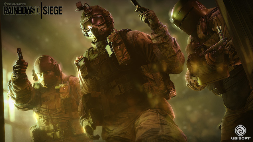 UBISOFT® LANZA TOM CLANCY'S RAINBOW SIX SIEGE