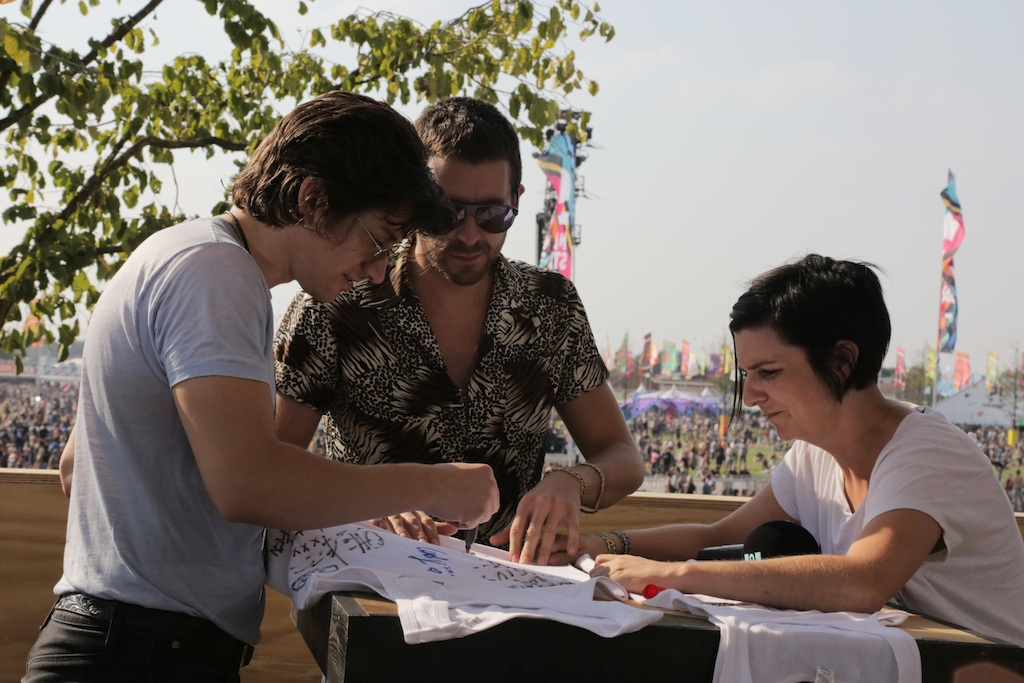 Ilse Liebens en The Last Shadow Puppets - (c) VRT