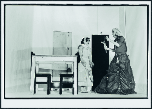 Maria Magdalena, regie Jan Decorte, Kaaitheaterfestival 1981. Foto Willy De