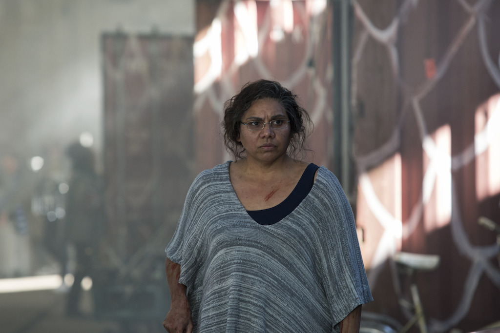 Deborah Mailman as Aunty Linda in Cleverman, is nominated for Best Actress