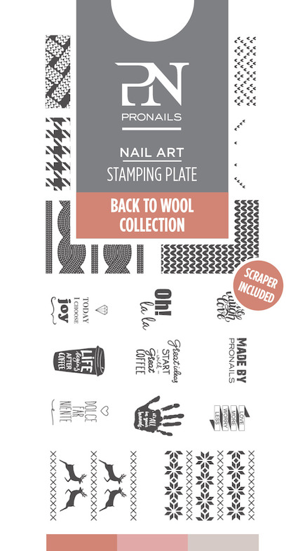 Stamping Plate Back to Wool 14,50€