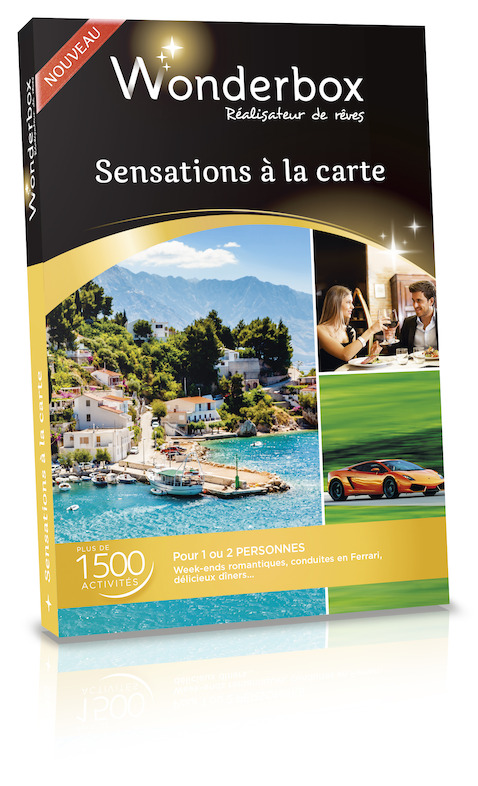 Wonderbox - Sensations à la carte - 99,90 €