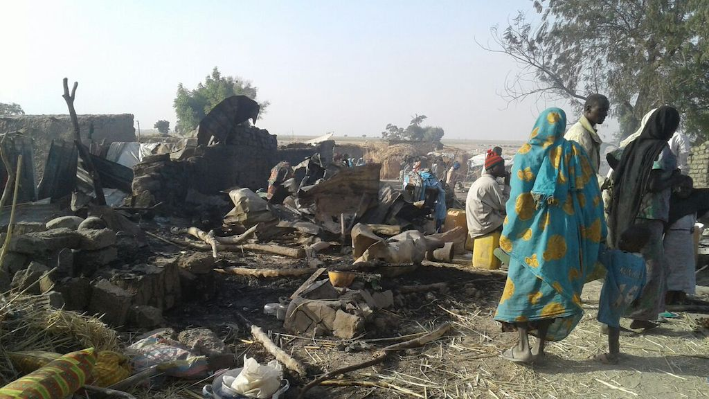 A bombing by the Nigerian Army has occurred in an internally displaced person camps in Rann, Nigeria. MSF teams have seen 120 wounded and at least 50 dead following the bombing. Teams are trying to provide emergency first aid in its facility and are stabilizing patients to evacuate wounded. We are asking the authorities to put all measures in place in order to facilitate the emergency evacuation of wounded (by air and land). Our medical and surgical teams in Cameroon and Chad are ready to treat wounded patients. Phtographer: MSF