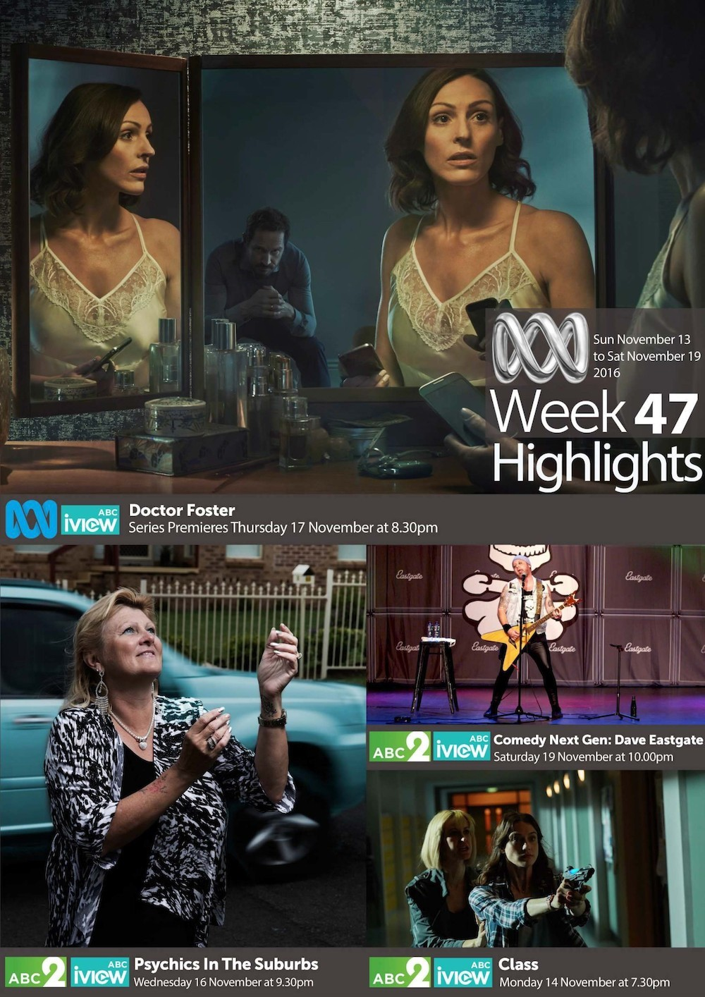 ABC Weekly Highlights - Week 47