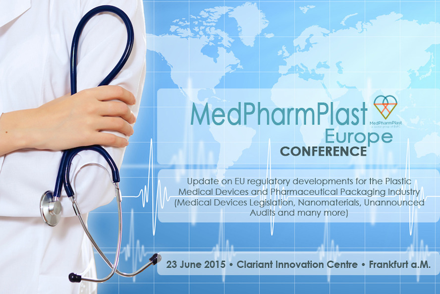 MedPharmPlast Europe Conference 2015 - ONLY A FEW PLACES LEFT