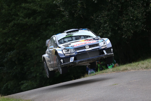 Super, Seb! Volkswagen wins at home event in the WRC