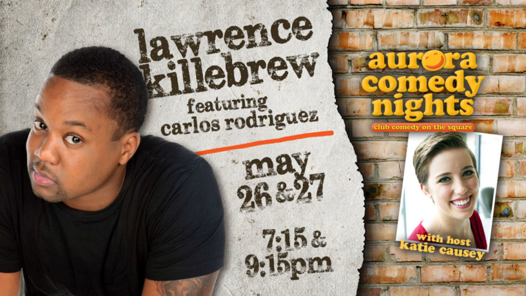 Lawrence Killebrew Comedy Night (photo credit Aurora Theatre)