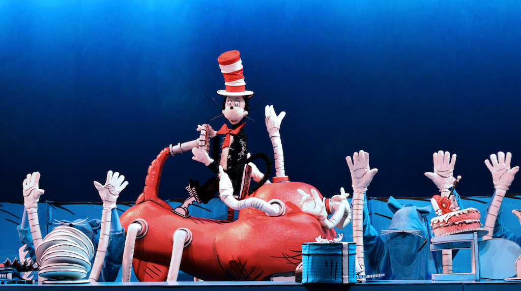 The Cat in the Hat (Photo by Center for Puppetry Arts)