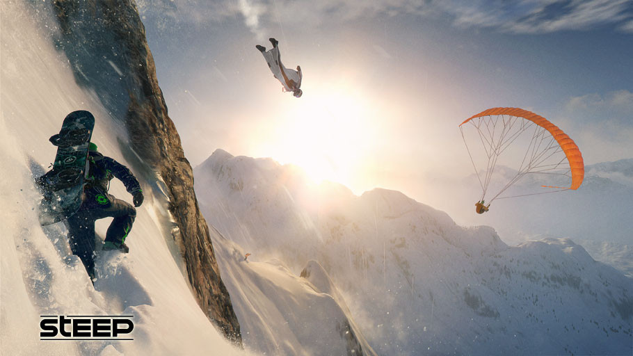 DESCIENDE POR LAS COLINAS NEVADAS DE LOS ALPES CON STEEP™, YA DISPONIBLE