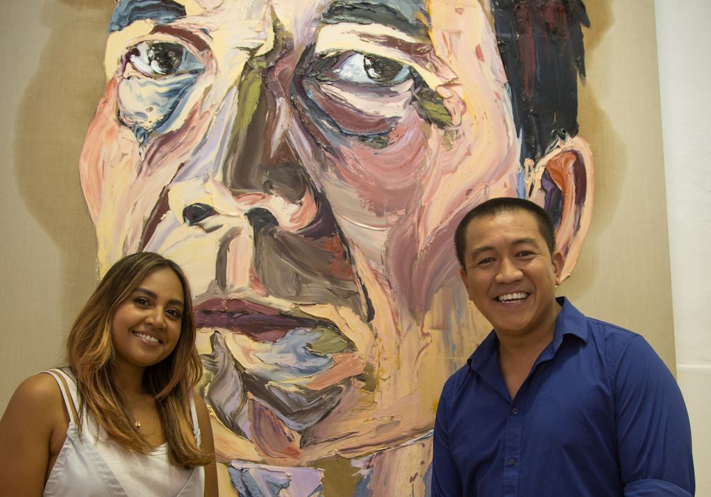 Anh with his first guest Jessica Mauboy
