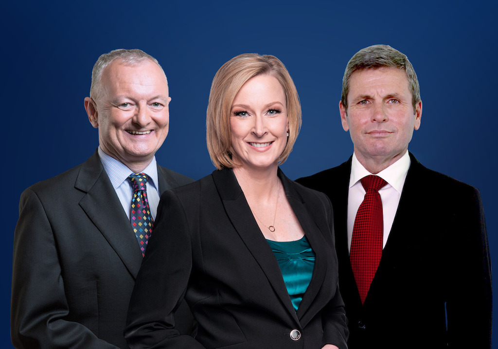 Antony Green, Leigh Sales & Chris Uhlmann
