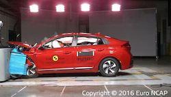 Sécurité maximale: la nouvelle IONIQ se voit décerner par Euro NCAP une notation de sécurité de 5 étoiles