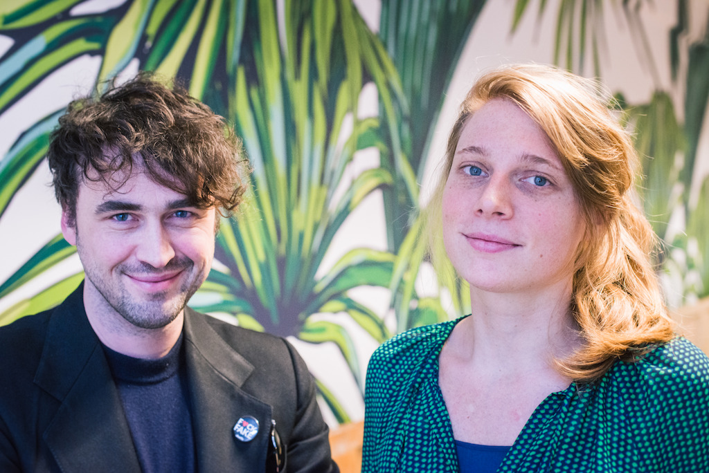 Lode Uytterschaut et Katrien Dewijngaert, founders Start it @kbc