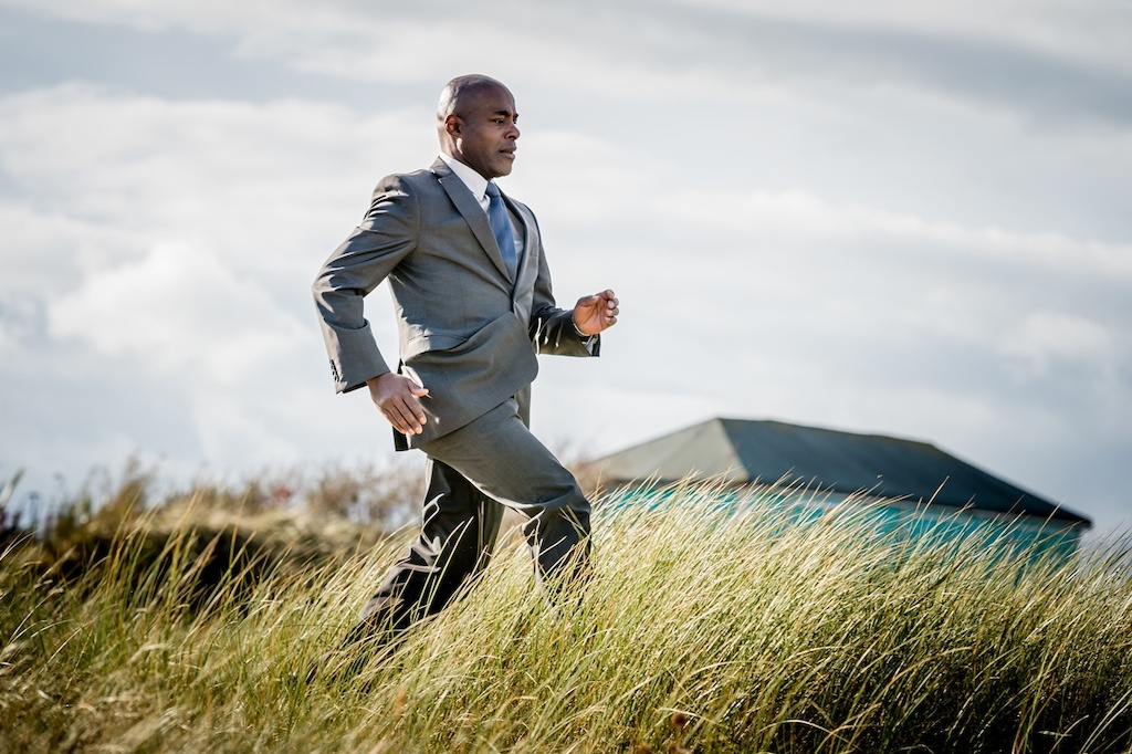 Safe House: DCI Mark Maxwell (Paterson Joseph) - (c) ITV