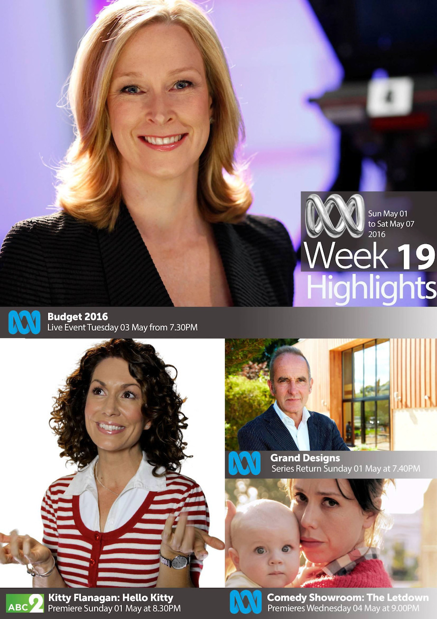 ABC TV Highlights - Week 19