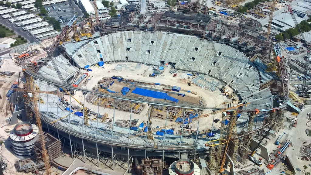 Renovation of Khalifa Stadium, Doha - Qatar