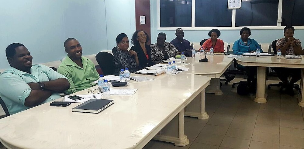 OECS Statistical Services Unit meets with stakeholders in preparation for Country Poverty Assessment