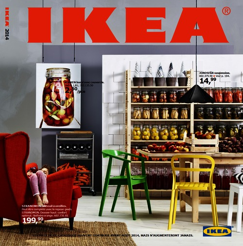 ikea sort son nouveau catalogue et baisse ses prix sur plus de 700 produits. Black Bedroom Furniture Sets. Home Design Ideas