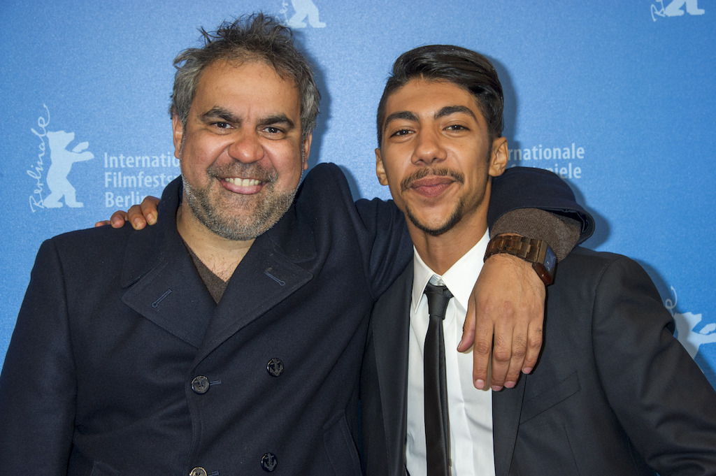 Wayne Blair & Hunter Page-Lochard at the World Premiere of Cleverman, Berlinale