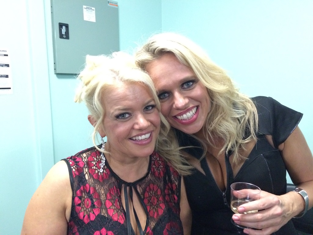 Libby O'Donovan and Beccy Cole