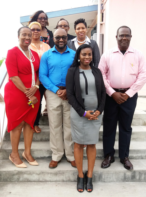 Antigua & Barbuda Hospitality Training Institute Board of Directors and OECS Team.