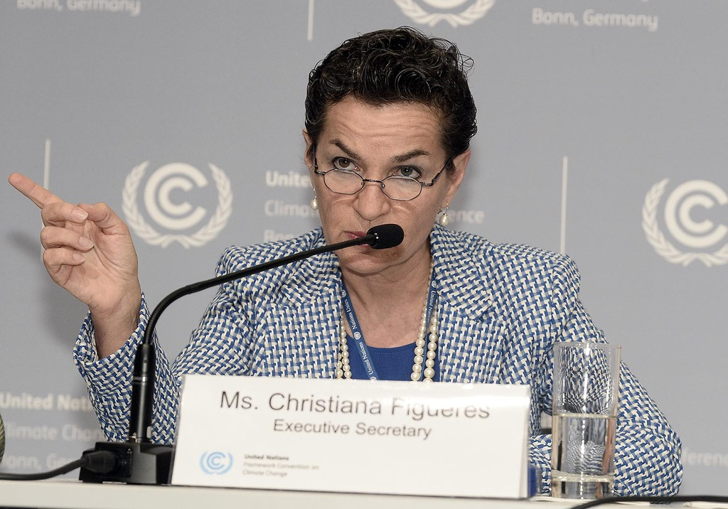 Christiana Figueres,  Uitvoerend secretaris van de United Nations Framework Convention on Climate Change (UNFCCC)