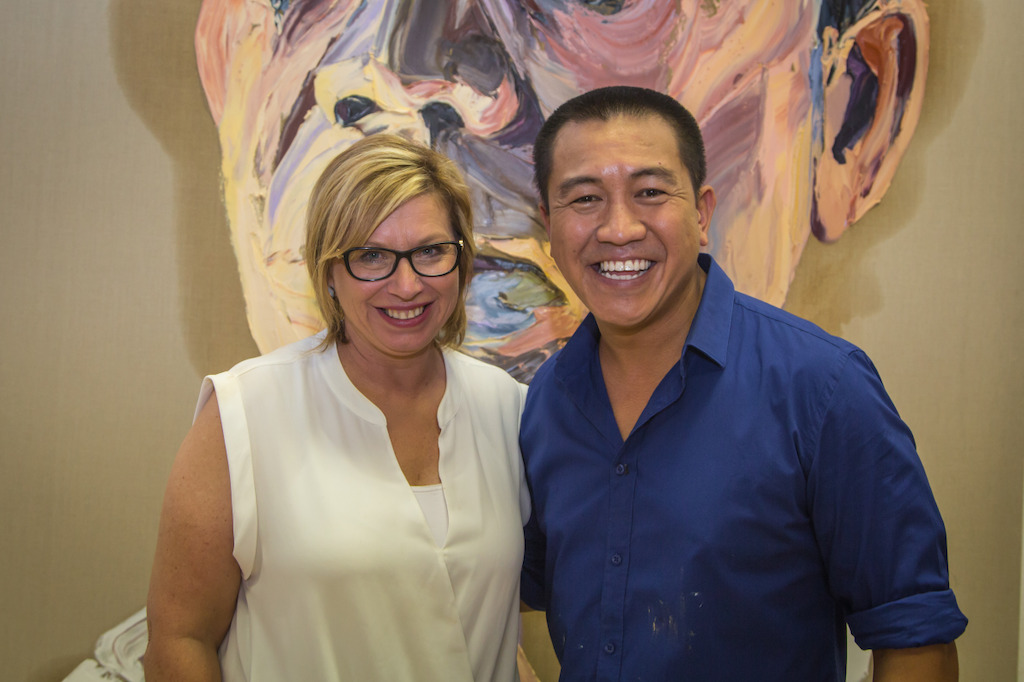 Anh's second guest, Rosie Batty