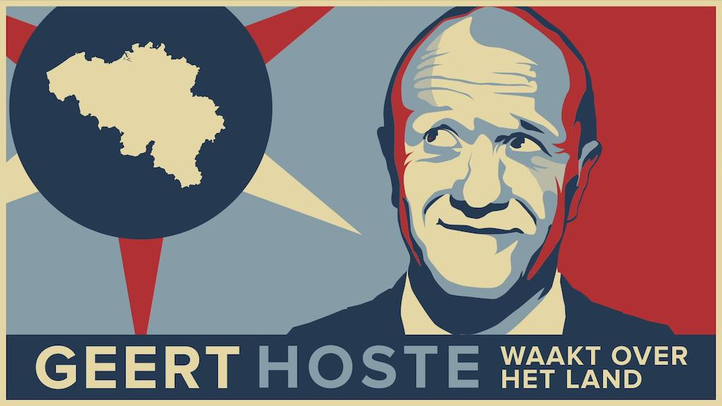 Geert Hoste waakt over het land
