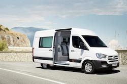 Brussels Motor Show: Première mondiale pour le H350 double cabine et 6 places