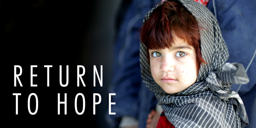 "Boondoggle en NAVO brengen ""Return to Hope"", het digitale verhaal over Afghanistan."