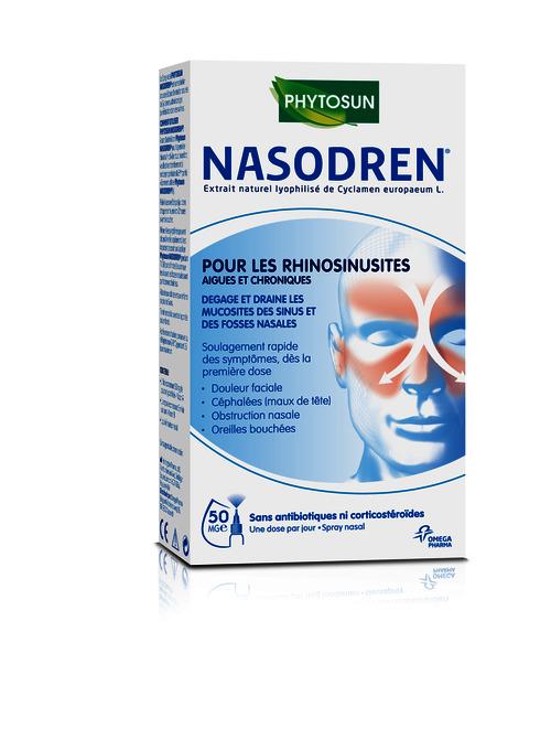 Lancement de PHYTOSUN NASODREN®: Traitement efficace